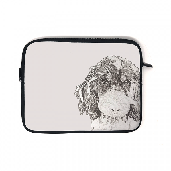 ipad case with picture of dog
