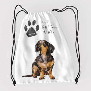 personalised toy bag for dogs
