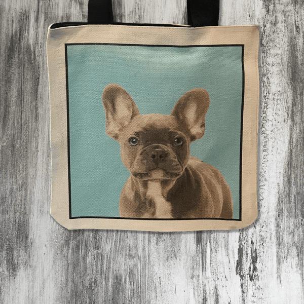 personalised dog tote bag